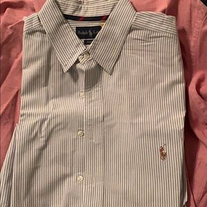 Dry-cleaned Ralph Lauren button up